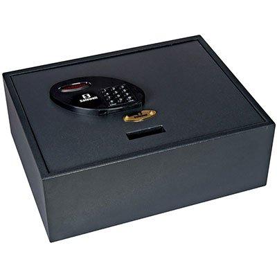Cofre eletrônico digital p/ gaveta 14,5x40x35cm DSS01RL Safewell CX 1 UN