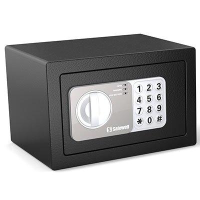 Cofre eletrônico digital 15x23x17cm 15EF Safewell UN 1 UN