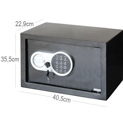 Cofre eletrônico para Notebook 22,9x40,5x33,5cm 23 ETW Safewell CX 1 UN