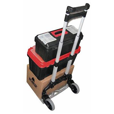 Carrinho p/carga dobrável em alumínio 422924 Worker PT 1 UN