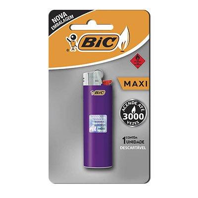Isqueiro maxi 846004 Bic (Cores Sortidas) PT 1 UN