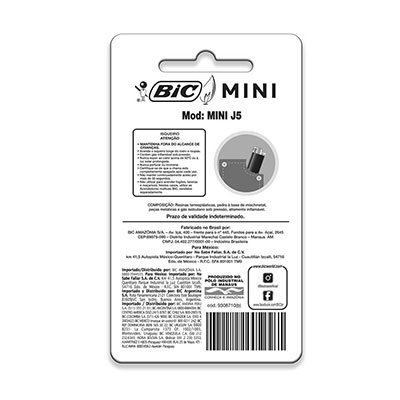Isqueiro mini 846005 Bic  (Cores Sortidas) PT 1 UN
