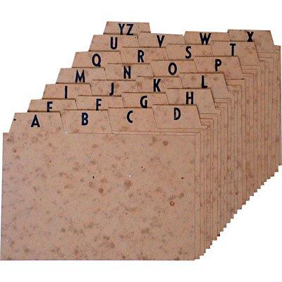 Indice a/z marmorizado 4x6 para fichário Mano PT 1 UN