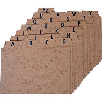 Indice a/z marmorizado 6x9 para fichário Mano PT 1 UN