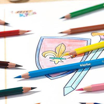 Lápis de Cor 36 cores sextavado 930230 BIC BT 1 UN