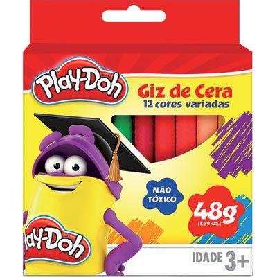 Giz de cera 12 cores Play-Doh 09082 Play Doh BT 1 UN
