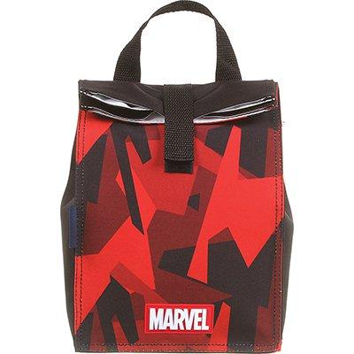 Lancheira Marvel Camuflado vermelho 11691 Dmw PT 1 UN