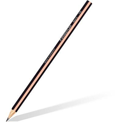 Lápis Preto Triangular Noris c/6 pastel 118 BK6 PA Staedtler BT 1 KT