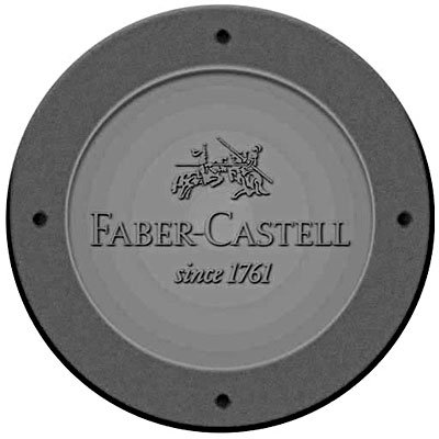 Lápis preto n.2 grip preto triangular SM/2001PRAP Faber Castell BT 2 UN
