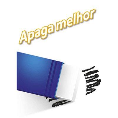 Lápis plástico preto Evolution Colors sextavado + 1 borracha 930026 Bic BT 5 UN
