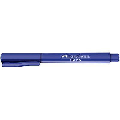 Caneta hidrográfica Fine Pen 0,4mm az SM/FPBAZZF Faber Castell BT 1 UN