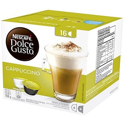 Nescafé Dolce Gusto Capuccino 12424178 Nestle Brasil CX 16 UN
