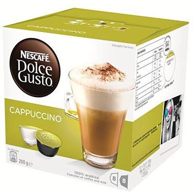 Nescafé Dolce Gusto Cappuccino Nestle Brasil CX 16 UN