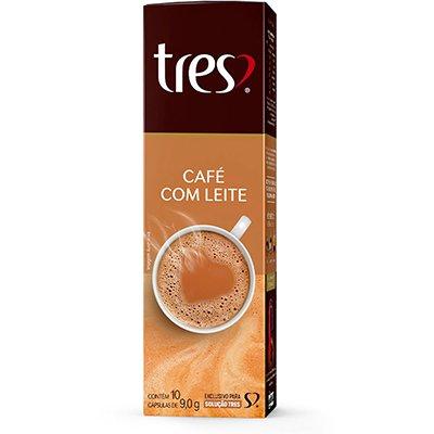 Cápsula de café com leite três Tres Coracoes Alimen CX 10 UN