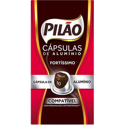 Cápsula de café Pilão para Nespresso 10 52g 4028659 Pilão CX 10 UN