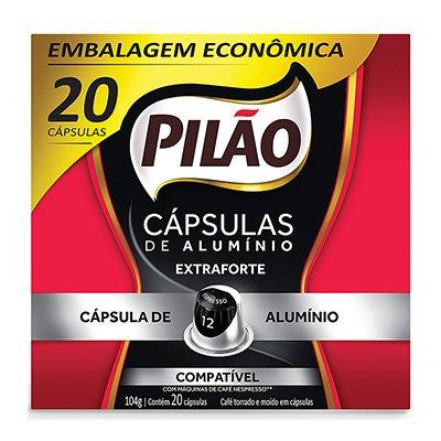 Cápsula de café Pilão para Nespresso 12 104g 4028662 Pilão CX 20 UN