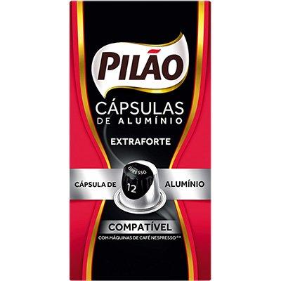 Cápsula de café Pilão para Nespresso 12 52g 4028660 Pilão CX 10 UN