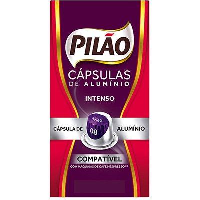 Cápsula de café Pilão para Nespresso 8 52g 4028657 Pilão CX 10 UN