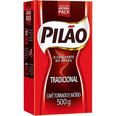 Café torrado e moído 500g Pilão PT 1 UN