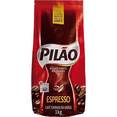 Café em grãos 1 kg 1218 Pilão PT 1 UN