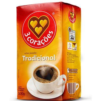 Café torrado e moído 500g Três Corações PT 1 UN