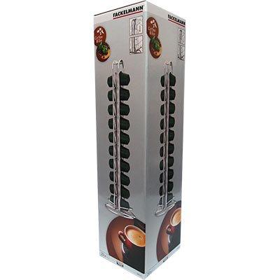 Porta cápsulas p/20 unidades compatível Nespresso 92 Hudson CX 1 UN