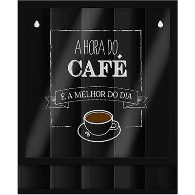 Porta cápsulas de parede Hora do Café Geguton PT 1 UN