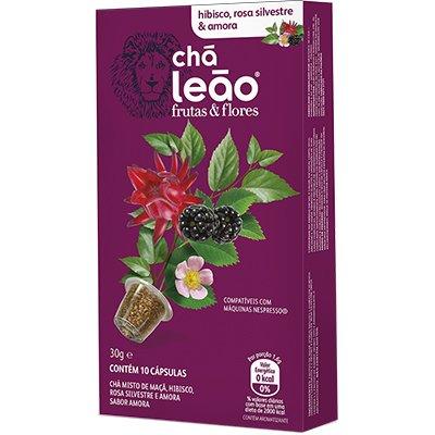 Cápsula de chá para Nespresso hibisco 6676 Leão CX 10 UN