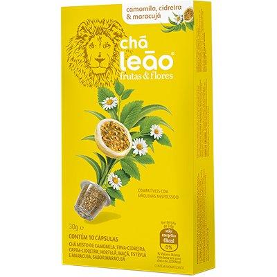 Cápsula de chá para Nespresso camomila 6675 Leão CX 10 UN