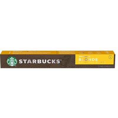 Cápsula de café Starbucks p/Nespresso Blonde Starbucks CX 10 UN