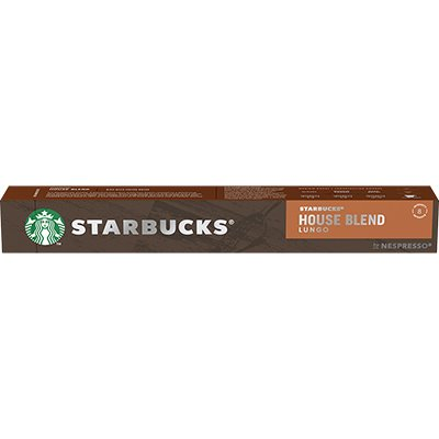 Cápsula de café Starbucks p/Nespresso House Blend Starbucks CX 10 UN