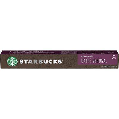 Cápsula de café Starbucks p/Nespresso Verona Starbucks CX 10 UN