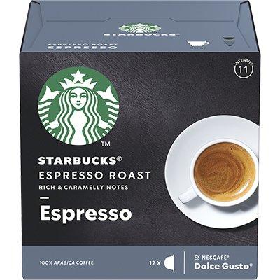Cápsula de café Starbucks p/Dolce Gusto Roast Starbucks CX 12 UN