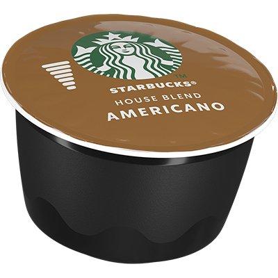 Cápsula de café Starbucks p/Dolce Gusto House Blend Starbucks CX 12 UN