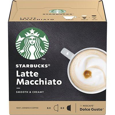 Cápsula de café Starbucks p/Dolce Gusto Latte Macch Starbucks CX 12 UN