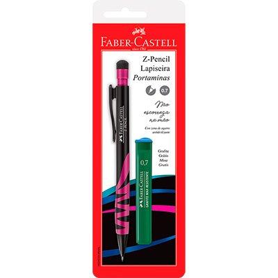 Lapiseira Z-Pencil Rosa 0.7mm Ctl - Faber-Castell BT 1 UN