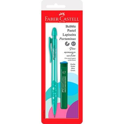 Lapiseira 0.7mm Bubble verde agua pastel SM/07BBVA Faber Castell BT 1 UN