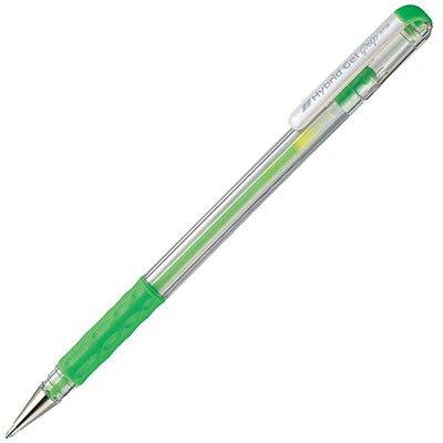 Caneta gel verde K118LK6 Pentel CX 1 UN
