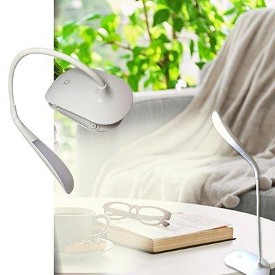 Luminária de mesa clip 2w branca LM971 Danuri CX 1 UN