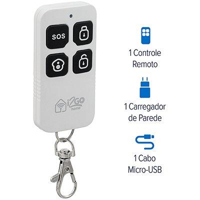 Kit Casa Smart Segurança I2GOTH725 I2Go CX 1 UN