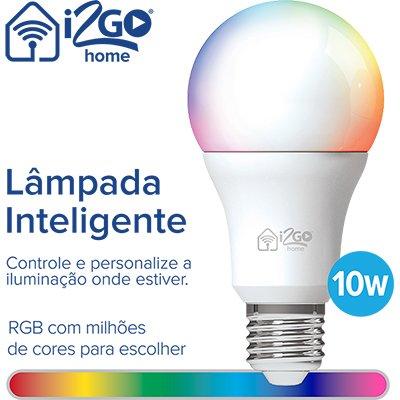 Lâmpada Smart Wi-Fi N 10w 806 Lumens bivolt I2GOTH716 I2Go CX 1 UN