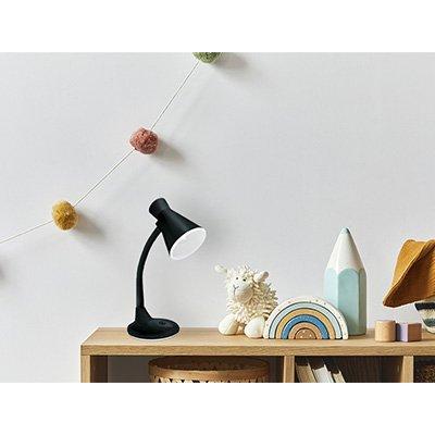 Luminária de mesa preta bivolt TLM03 Taschibra CX 1 UN
