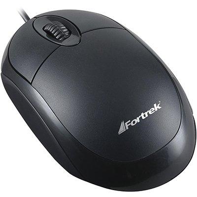 Mouse óptico usb 800dpi OML-101 preto 62845 Fortrek CX 1 UN