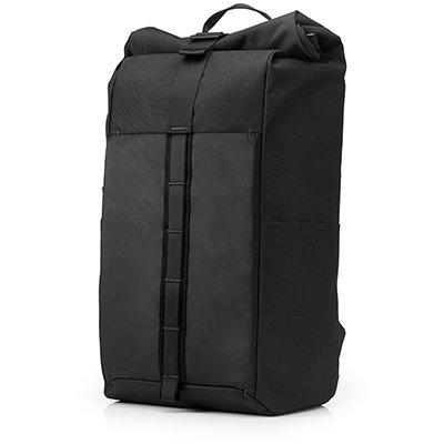 """Mochila para notebook 15,6"""" Pavilion Rolltop preta 7QQ78LA HP PT 1 UN"""