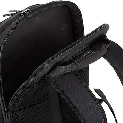 """Mochila para notebook 15,6"""" Gamer preta/vermelha 3EJ61LA HP PT 1 UN"""