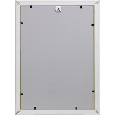 Moldura A4 para certificado branco - Decorex PT 1 UN