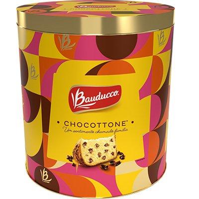 Chocottone lata 750g 1143 Bauducco LT 1 UN