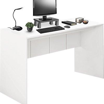 Mesa para Computador 136cm branco fosco EI075 Multilaser  CX 1 UN