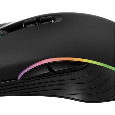 Mouse Gamer USB 7 botões GMF-01 4800DPI 90008-01 X-zone CX 1 UN