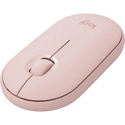 Mouse sem fio Pebble Rosa M350 Logitech CX 1 UN